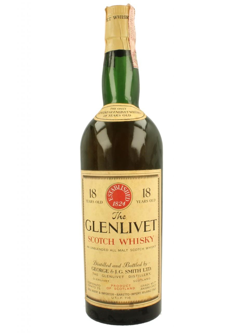 giá rượu Glenlivet 1951 18 năm