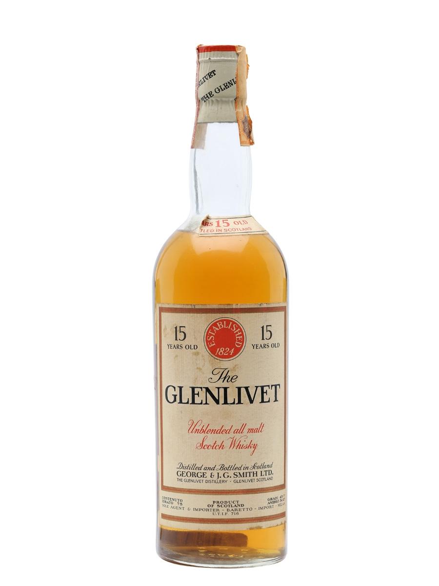 giá rượu Glenlivet 1954 15 năm