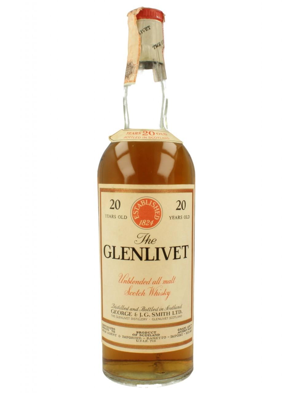giá rượu Glenlivet 20 năm