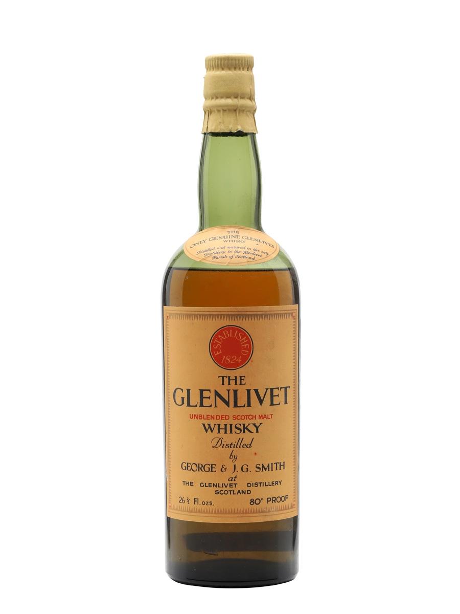giá rượu Glenlivet