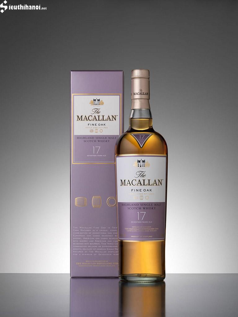 rượu macallan 17