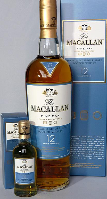 giá rượu Macallan Fine Oak 12 yo