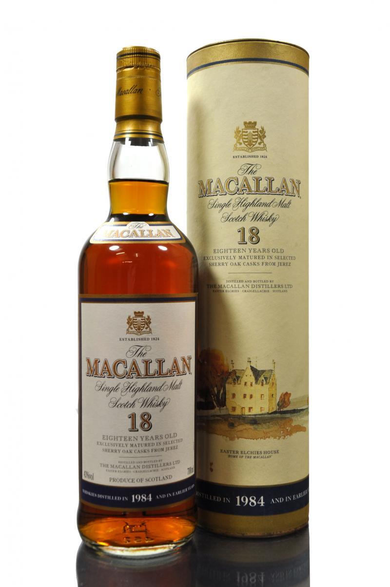 giá rượu Macallan 1984 18 năm
