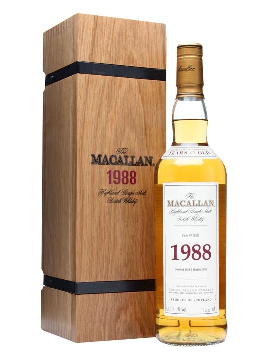 giá rượu Macallan 1988