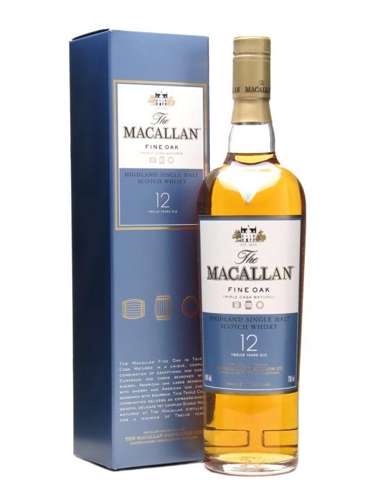 giá rượu Macallan Fine Oak 12 năm