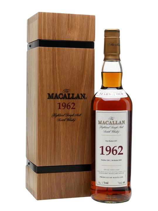 giá rượu Macallan 1962 15 năm