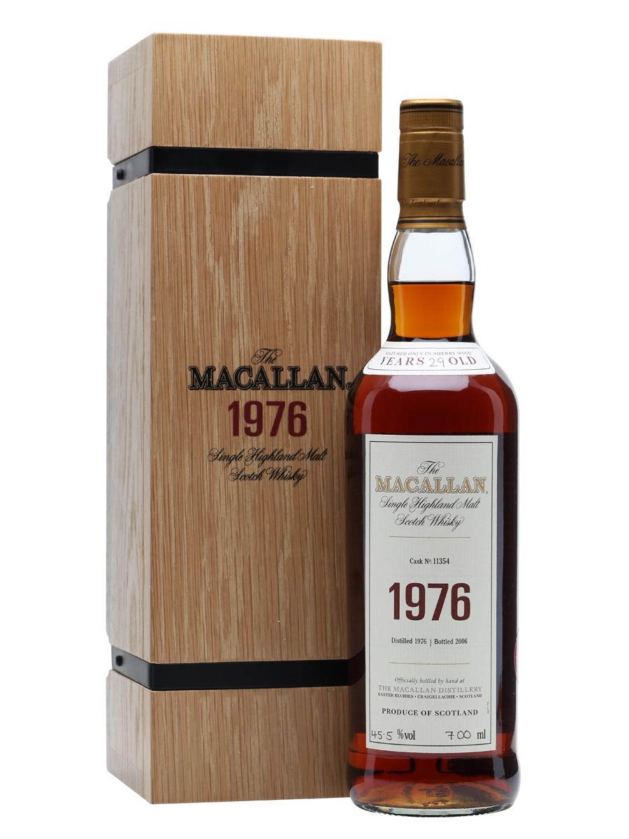 giá rượu Macallan 1976 29 năm