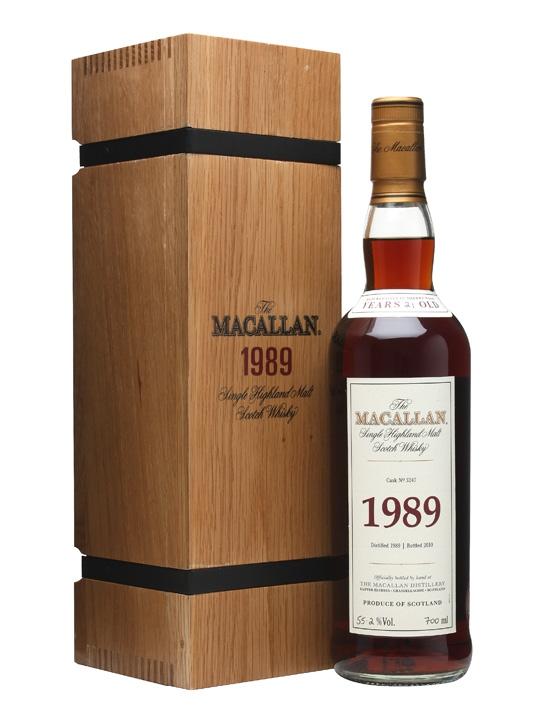 giá rượu Macallan 1989 21 năm