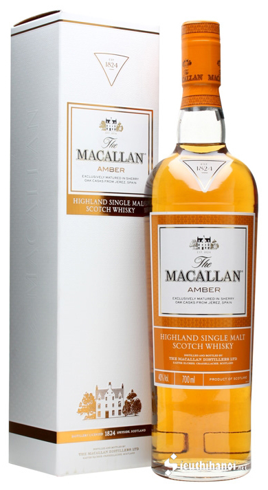 rượu macallan amber 1824