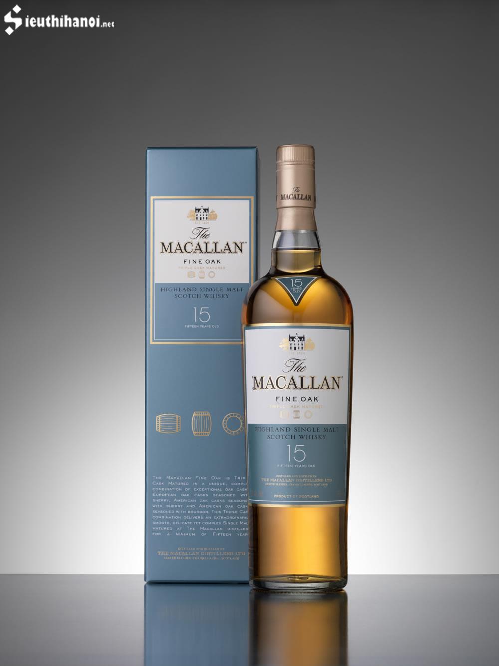 giá rượu macallan 15