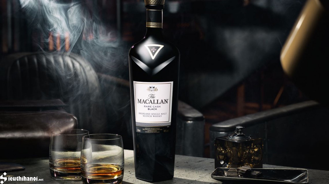 The macallan rare cask black giá