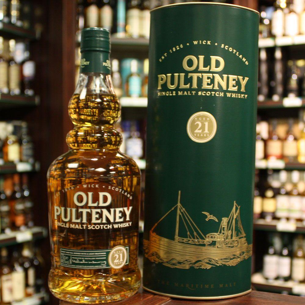 Mua rượu Old Pulteney 21 yo