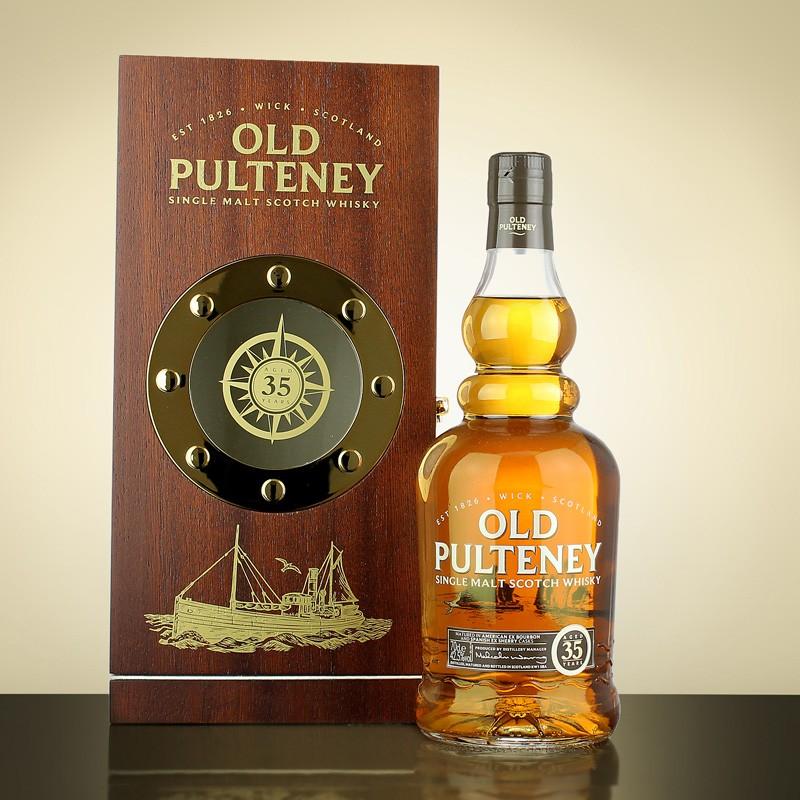 giá rượu Old Pulteney 35 năm