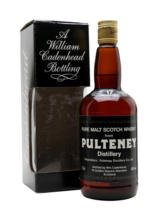 giá rượu Old Pulteney 1967 17 năm