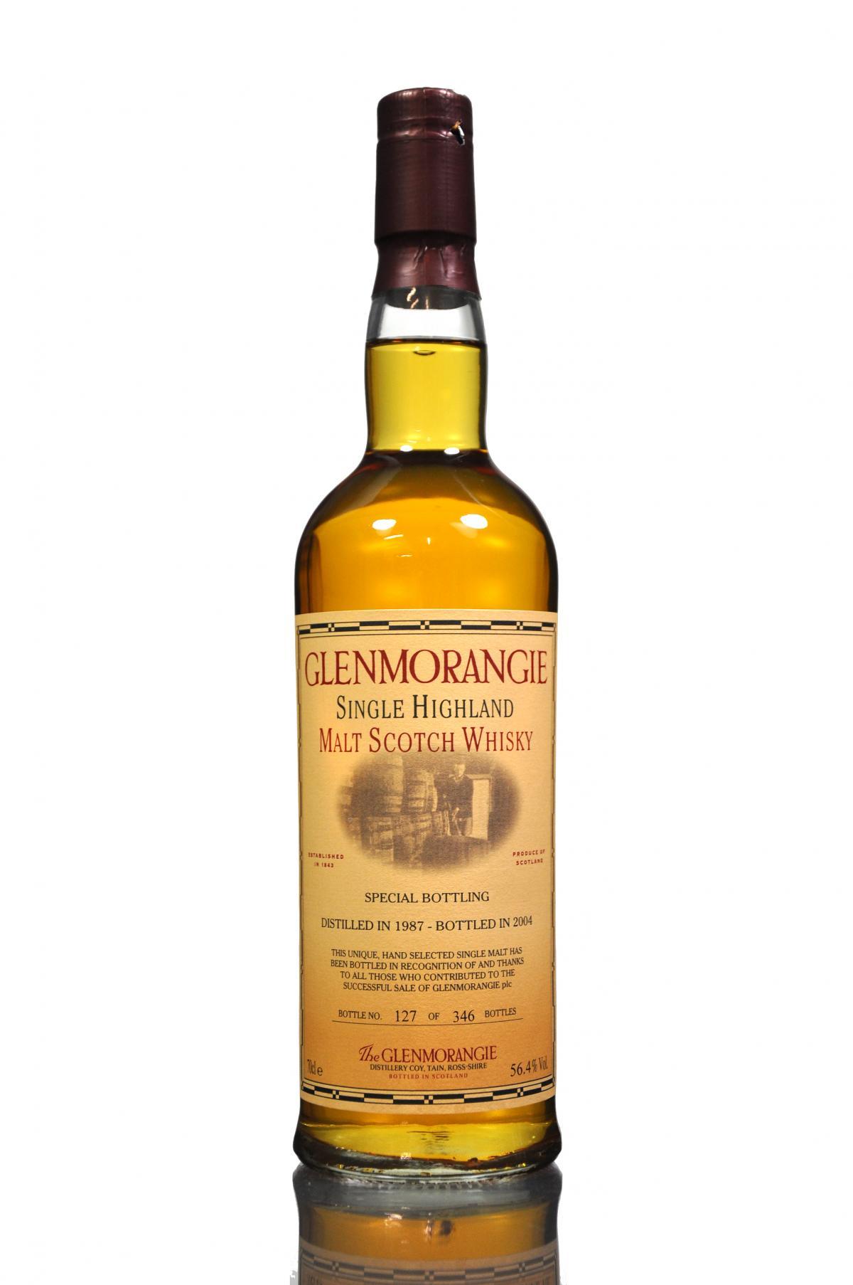 giá rượu Glenmorangie 1987
