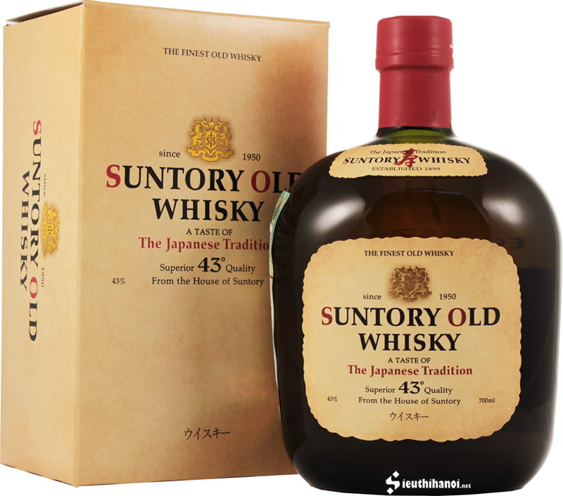rượu suntory old whisky