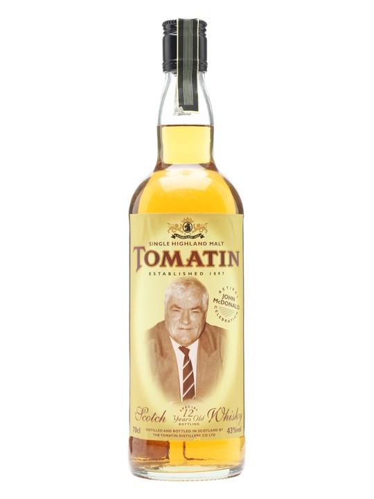 giá rượu Tomatin 12 năm