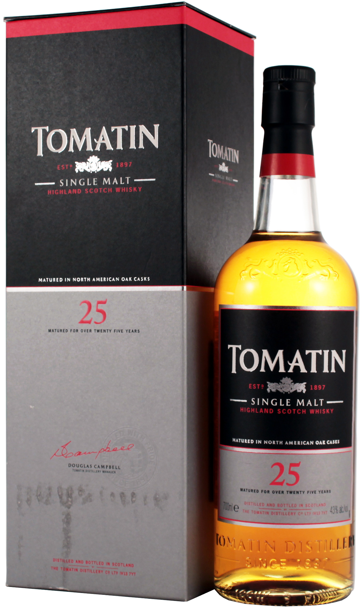 giá rượu Tomatin 25 năm