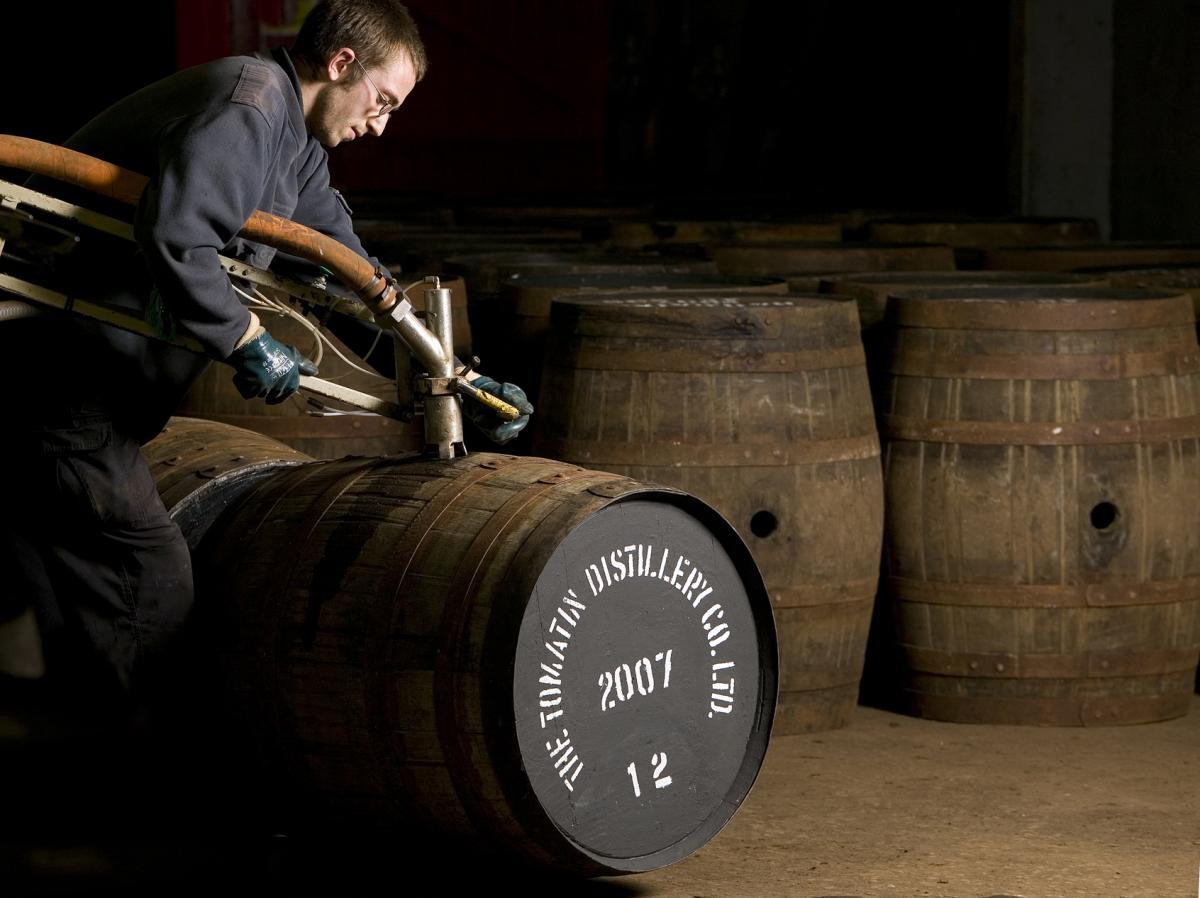 giá rượu Tomatin Cu Bocan Virgin Oak