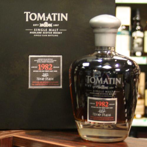 Bán rượu Tomatin 1982