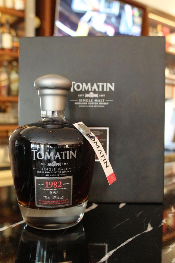 Rượu Tomatin 1982 giá