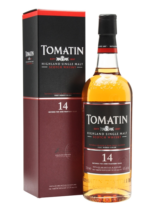giá rượu Tomatin Port Wood Finish 14 năm