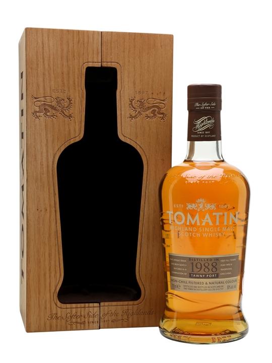 giá rượu Tomatin 1988