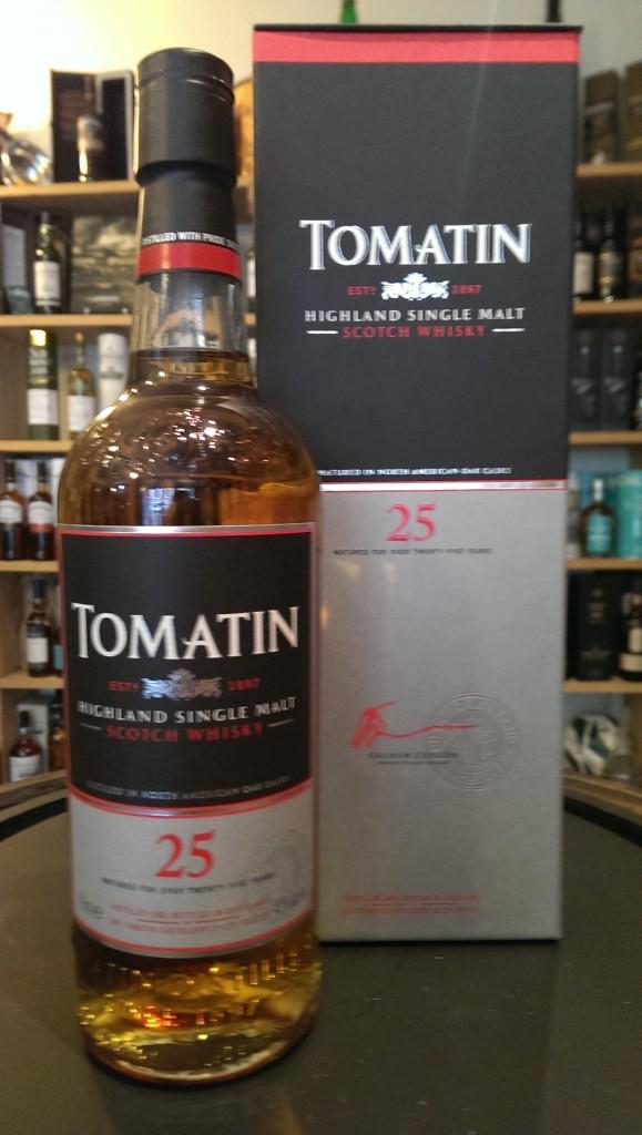 giá rượu Tomatin 25 yo