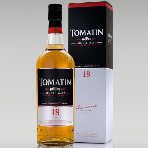giá rượu Tomatin 18 năm