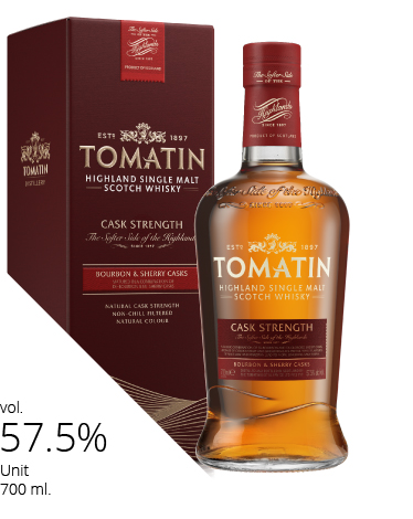 giá rượu Tomatin cask strength Edition