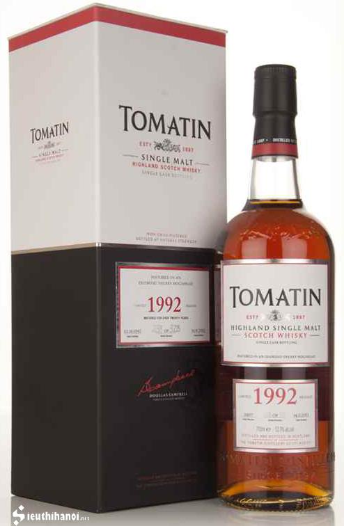 rượu Tomatin 1992