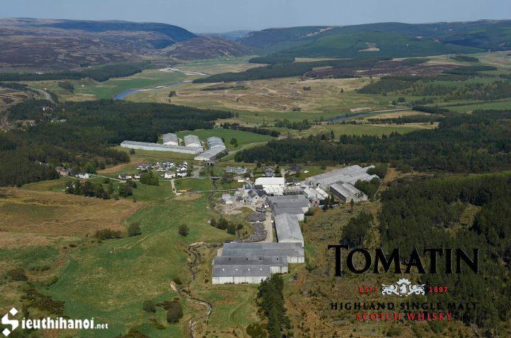 nhà máy rượu Tomatin