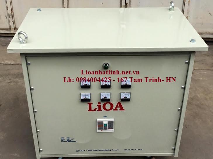 biến áp lioa 100kva 3 pha loại cách ly