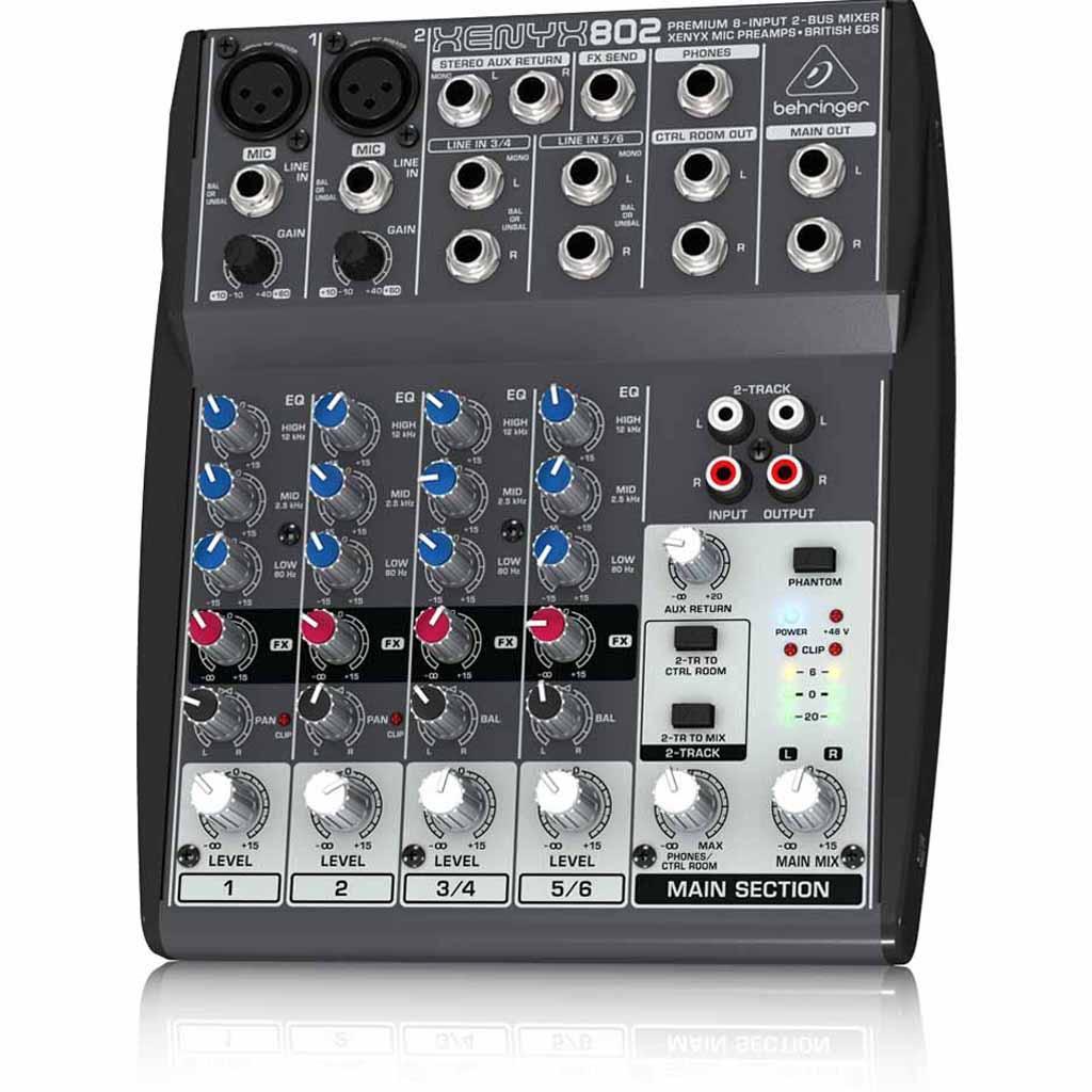 Máy trộn âm thanh thiết kế siêu nhỏ gọn