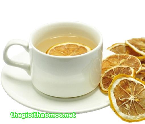 trà chanh thảo mộc