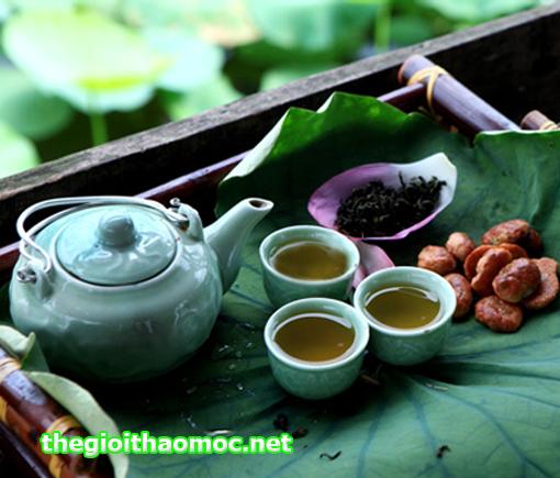 Kết quả hình ảnh cho trà ướp hoa sen huế