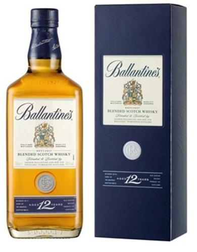 giá rượu ballantine's 12