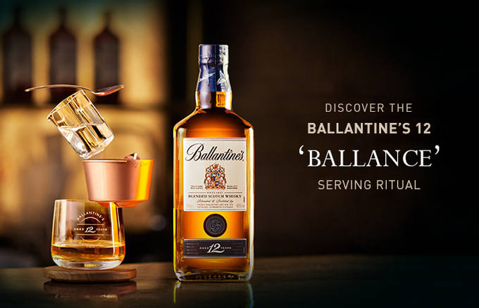 rượu ballantine's 12 1000ml