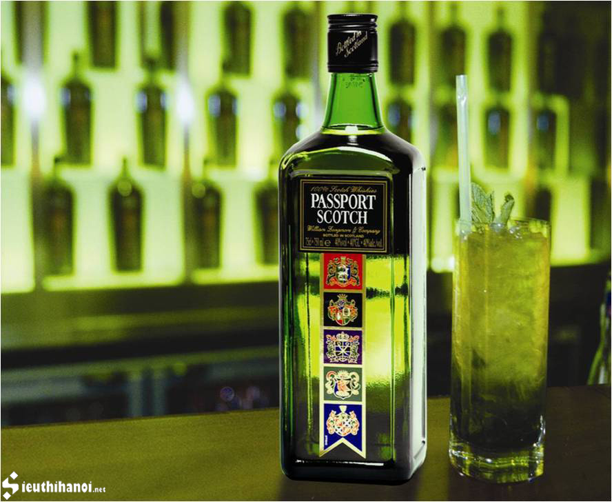 Rượu Passport Scotch 1 lít