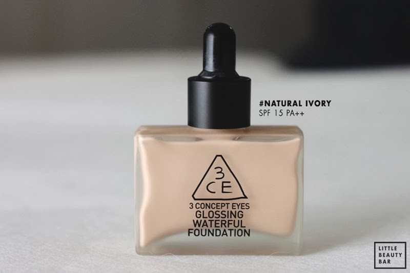 Reviews về kem nền 3CE Glossing Waterful Foundation