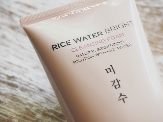 Bao bì sản phẩm  Rice Water Bright Cleansing Foam