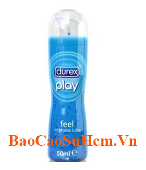 Gel bôi trơn durex play feel
