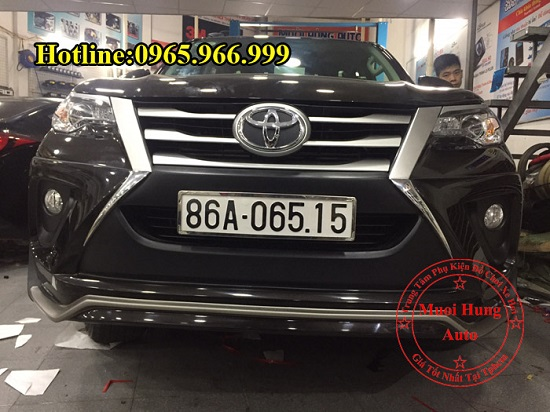Body Kit Toyota Fortuner 2016, 2017 Cao Cấp