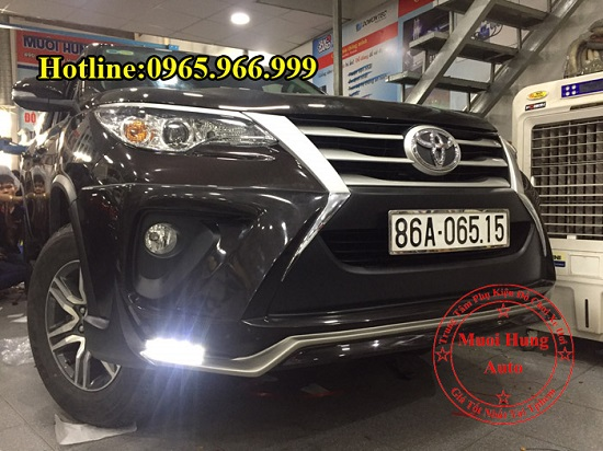 Body Kit Toyota Fortuner 2016, 2017 Cao Cấp 01