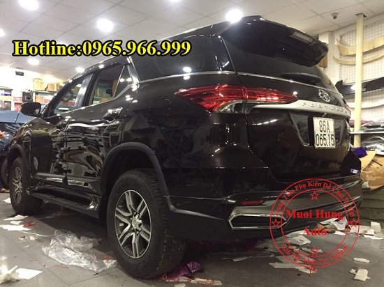 Body Kit Toyota Fortuner 2016, 2017 Cao Cấp 02