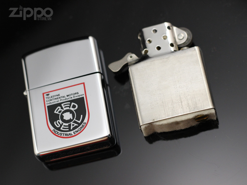 bat lua zippo co va ruot co 1974 red seal