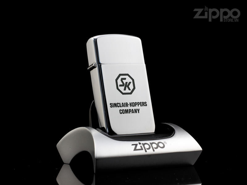 hot quet zippo co slim sinclair koppers 1