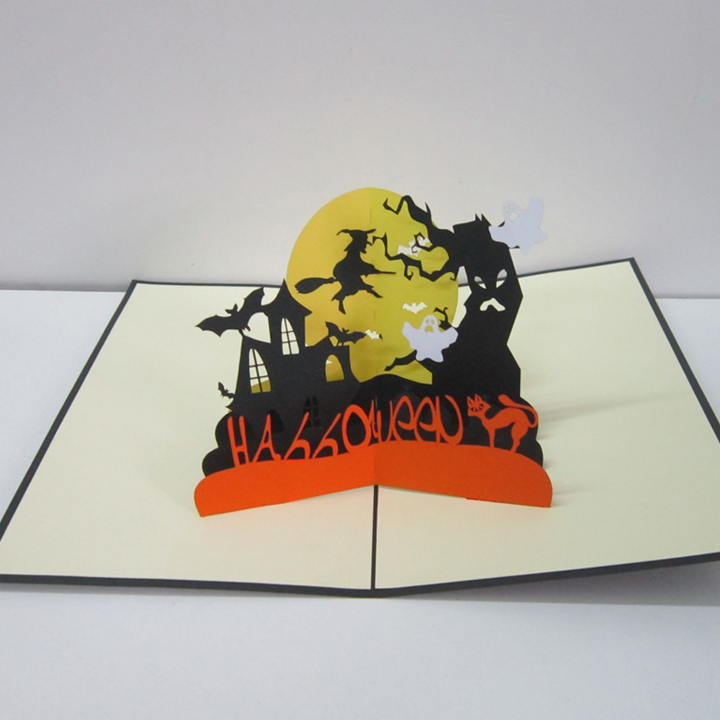 haloween greeting card