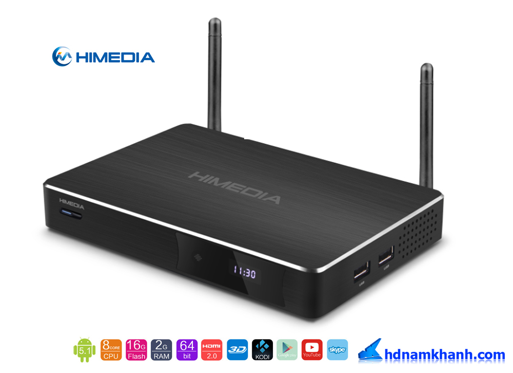Himedia H8 Plus, Android TV Box Octa Core, RAM 2G, ANDROID 5.1