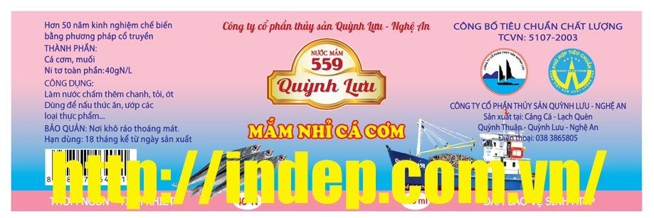 in nhan nuoc mam
